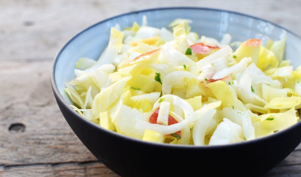 Witloofsalade met appel