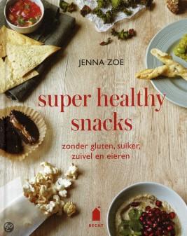 Super healthy snacks van Jenna Zoe.