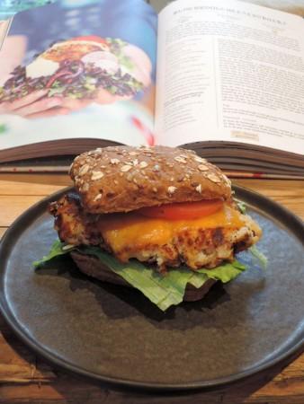 bloemkoolcheesburger