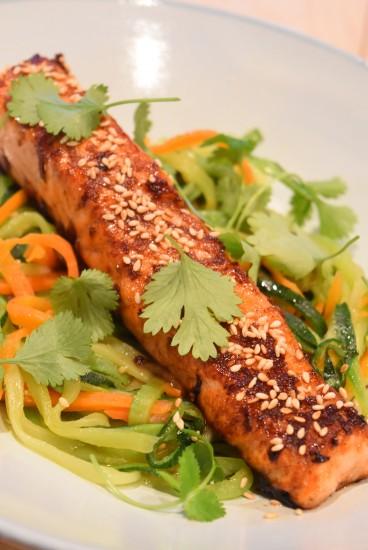 Zalm groentenspahetti3