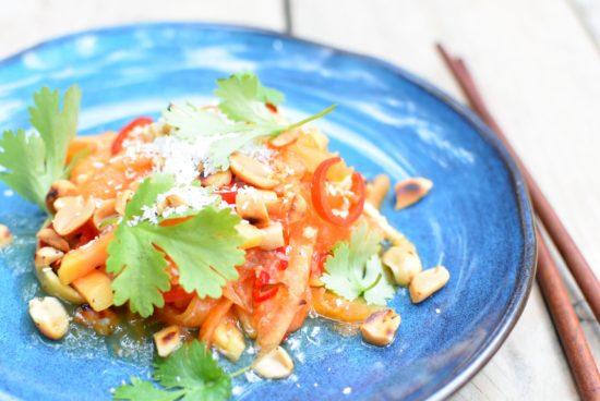Papaja salade 4