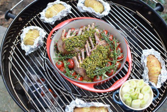 Lamskroon op de barbecue 4