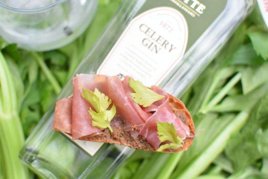 Rutte Celery Dry Gin - Bruschetta 2
