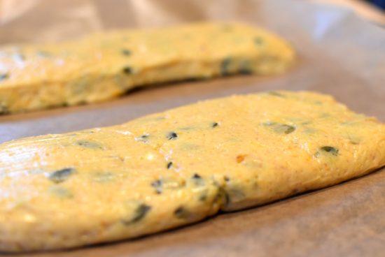 Biscotti met pompoen en pomoenpit