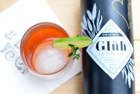 Glühjenever - Valentijns cocktail