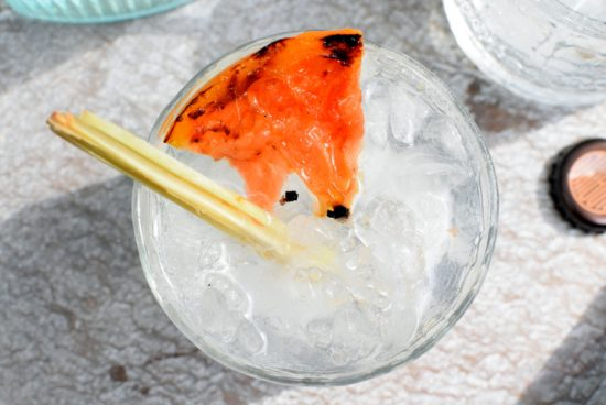 Le Tribute gin cocktail