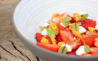 Aardbei - Yoghurt - Zandkoekjes - Citroengras