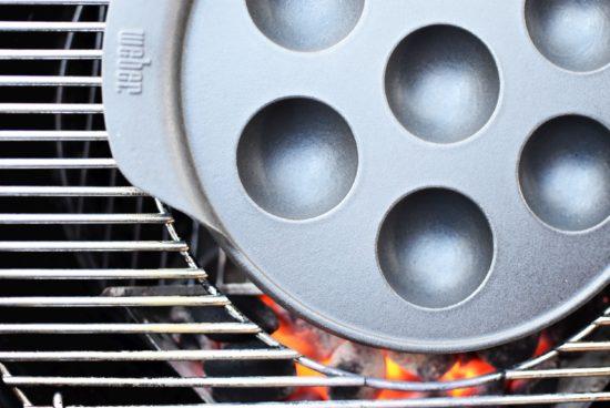 Pompoen poffertjes - Hartig & Zoet - Gourmet BBQ Systeem