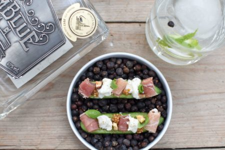 Gemblue Gin - Fingerfood - Komkommer - Mozzarella