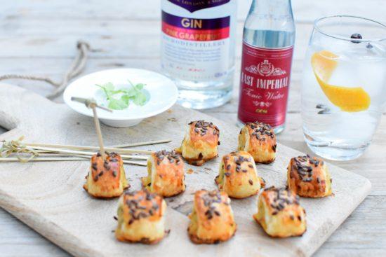 Sacred Pink Grapefruit Gin - Oosterse croustillant met vis