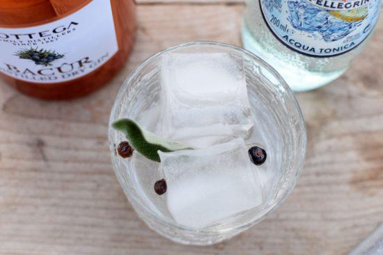 Bottega Bacur Gin - Gehaktballetjes Saltimbocca