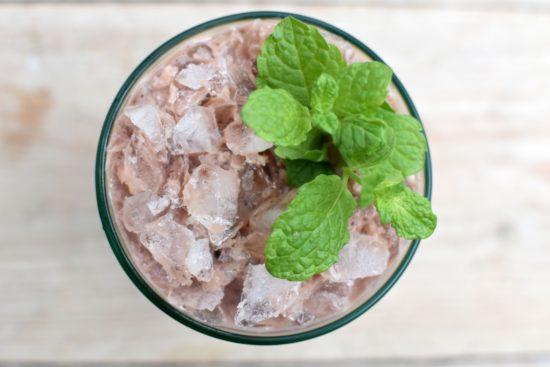Paascocktail - Chocolade Mojito met eigen chocoladelikeur
