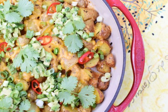 Krieltjes à la nacho's – Aardappelen op de barbecue