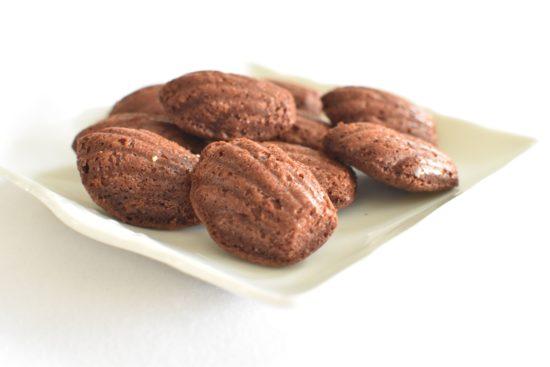 Gerookte chocolade brownie met bourbon crème au beurre