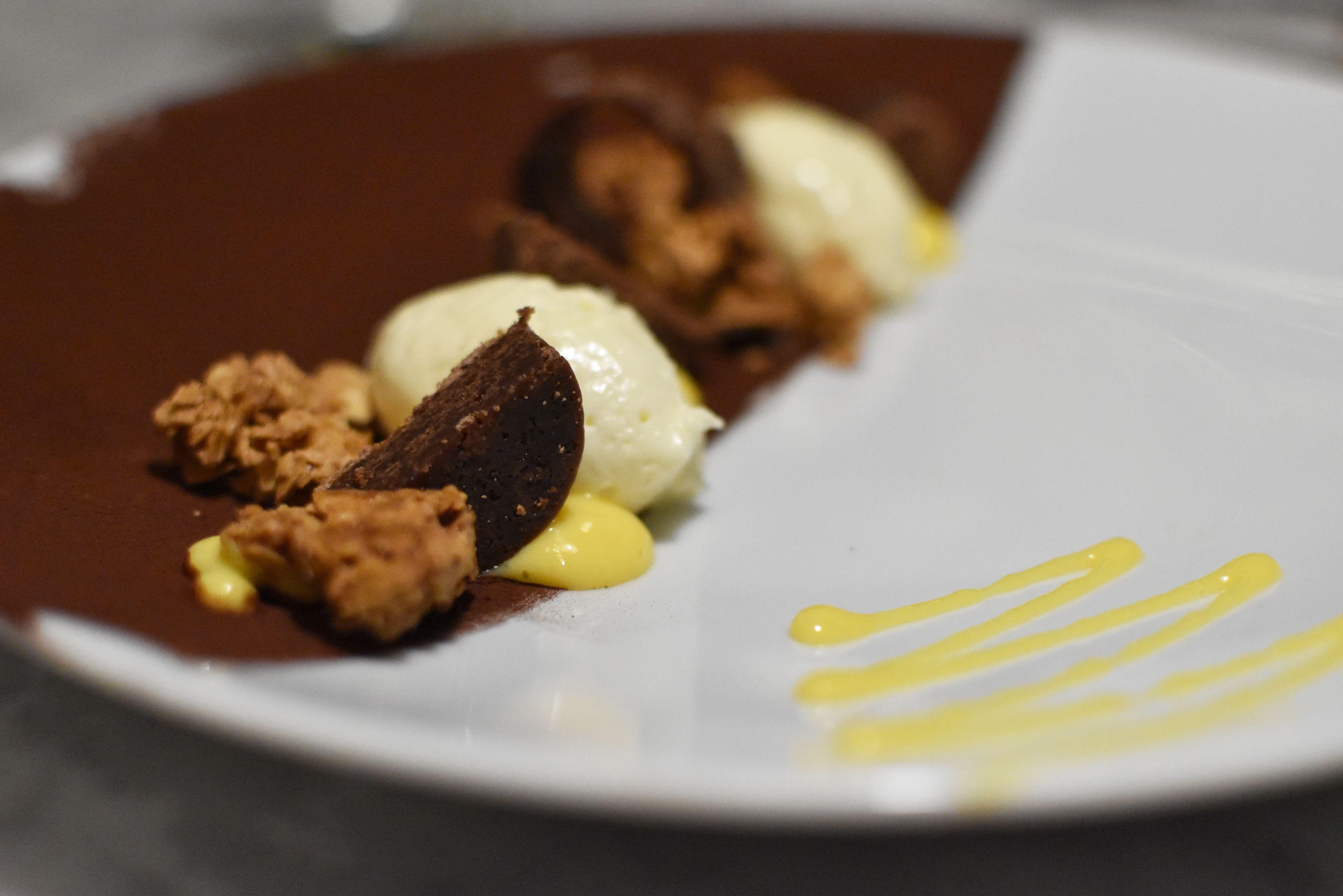 Chocolade dessert - hotel Vesper - Noordwijk