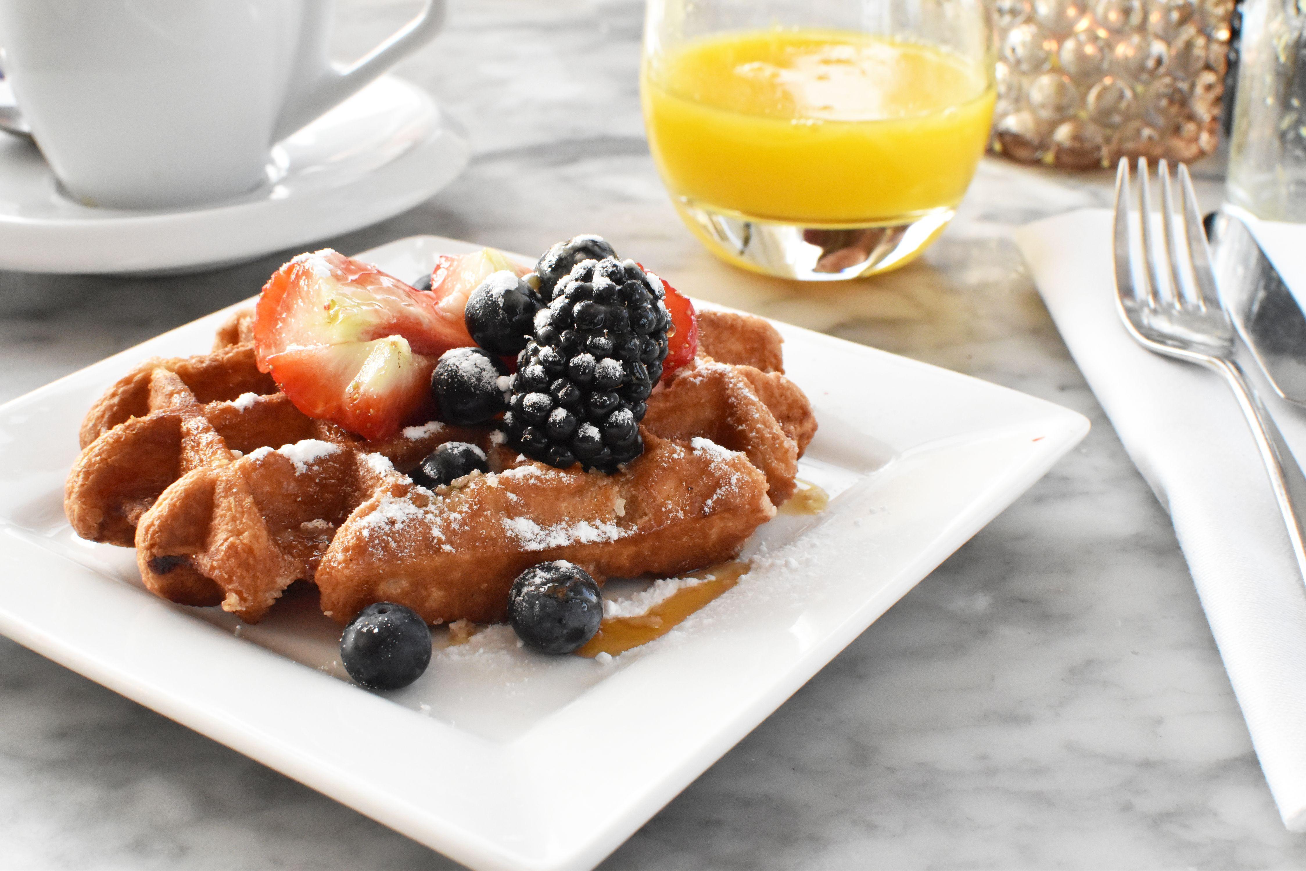 ontbijt bij hotel Vesper