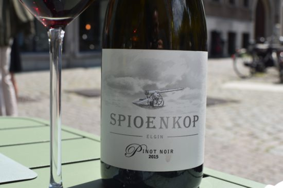 Spioenkop - Pinot Noir 2015 uit South-Africa - Elgin Valley