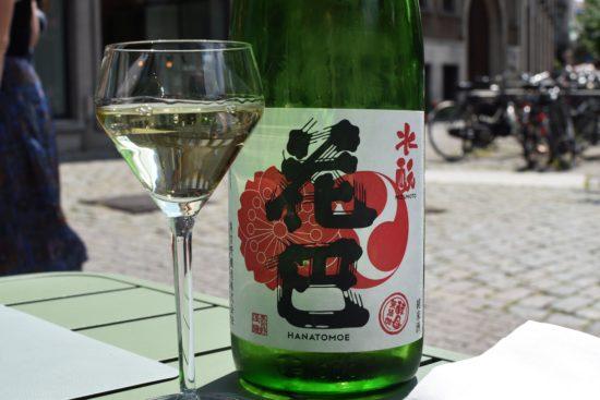Japanse sake: Nara - Miyoshino Shuzo - Hanatomoe