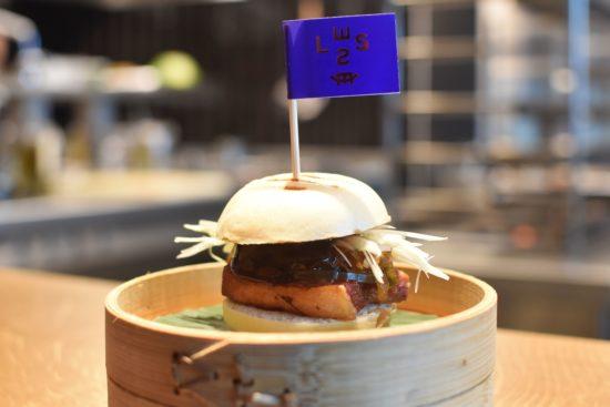 Steamed bun, pork belly, hoisin and kimchi  €14,5