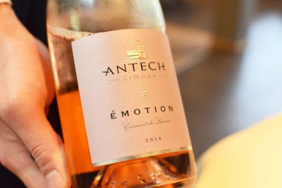 crémant de Limoux rosé, van Maison Antech 'Émotion'