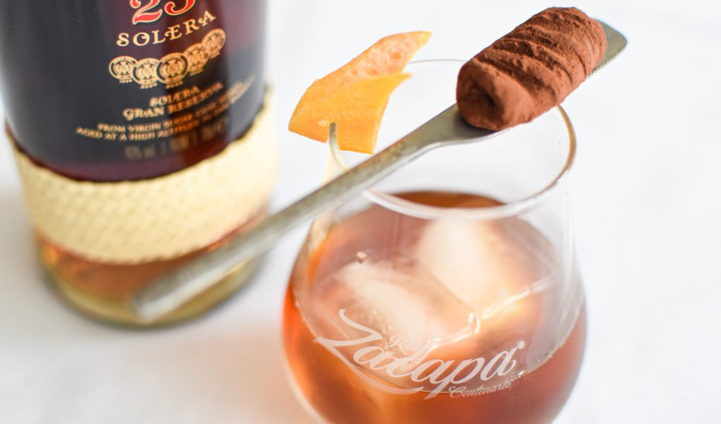Zacapa old fashioned - Chocolade truffel
