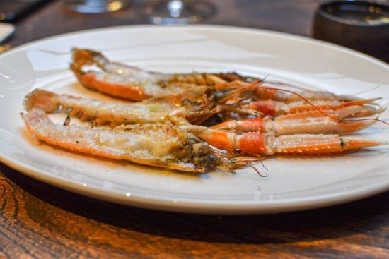 Langoustines op de grill - Taxi's Restaurant - Gent - Puur, ruw & verfijnd