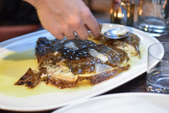 Tarbot op de grill - Taxi's Restaurant - Gent - Puur, ruw & verfijnd