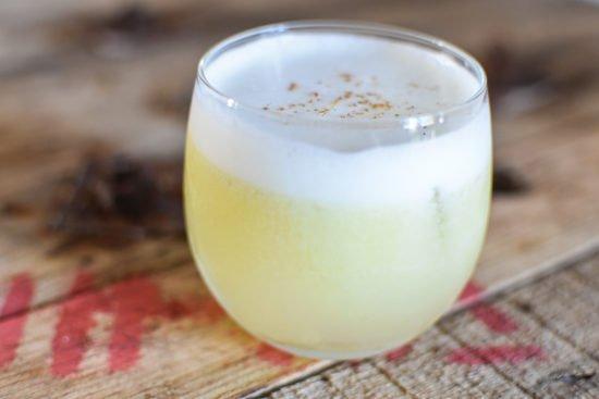 Gin - Olijfolie - Sour