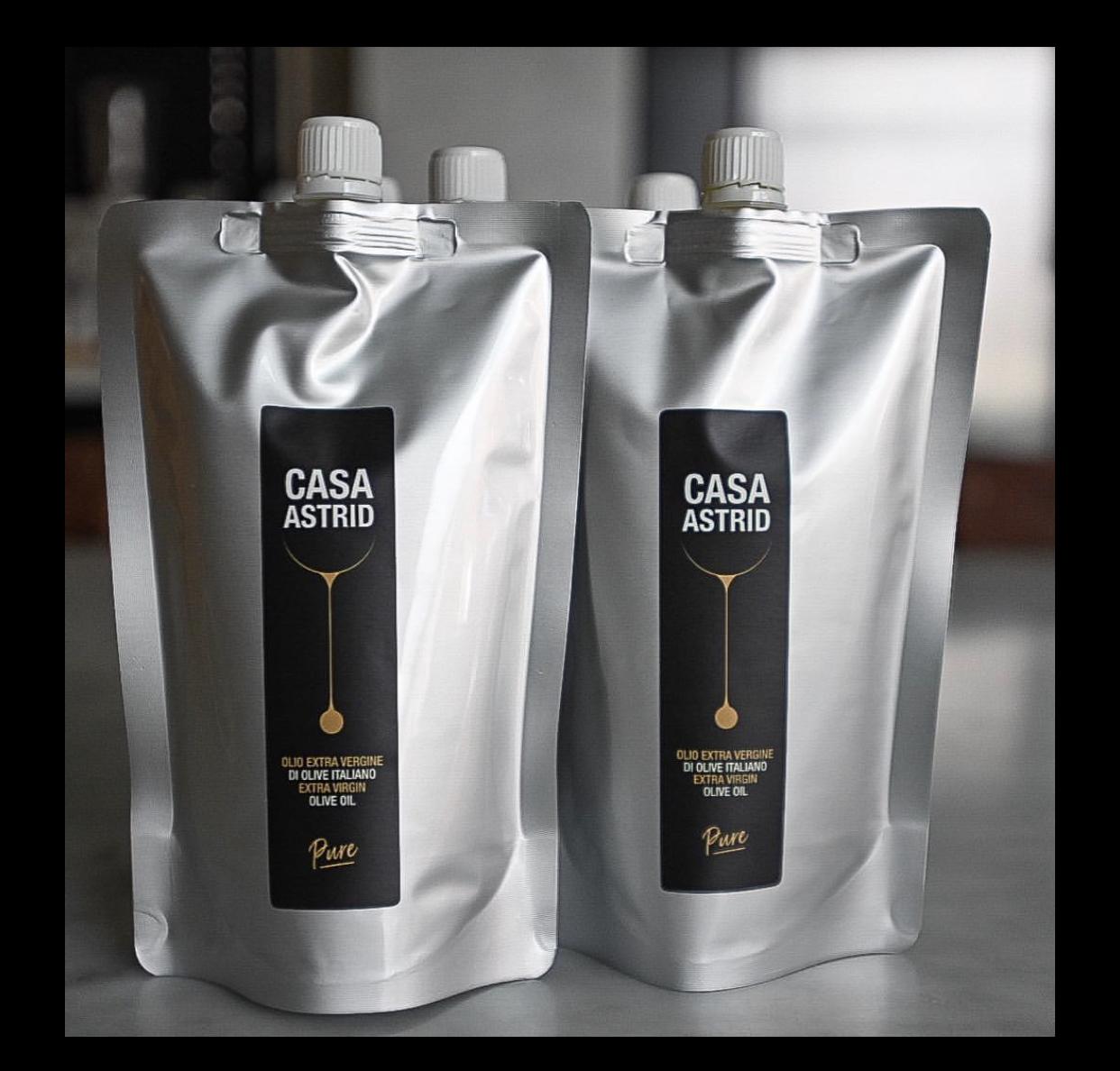Casa Astrid lanceert ecologische navulling extra vierge olijfolie