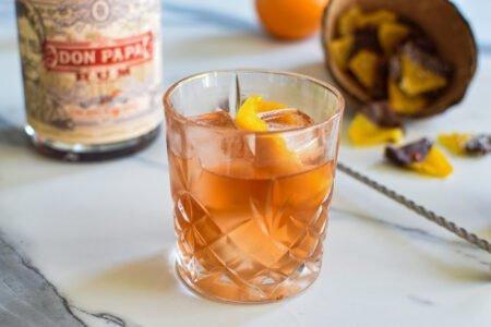 Don Papa Old fashioned - Gekonfijte ananas