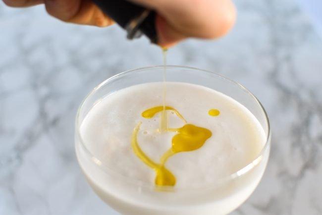 Scroppino met olijfolie