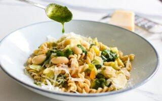 Fagioli: Vegetarische pasta met artisjok, bonen en prei