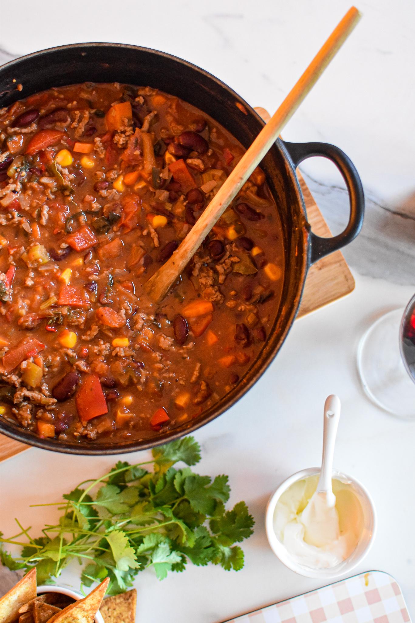 De lekkerste chili con carne à la Sofie