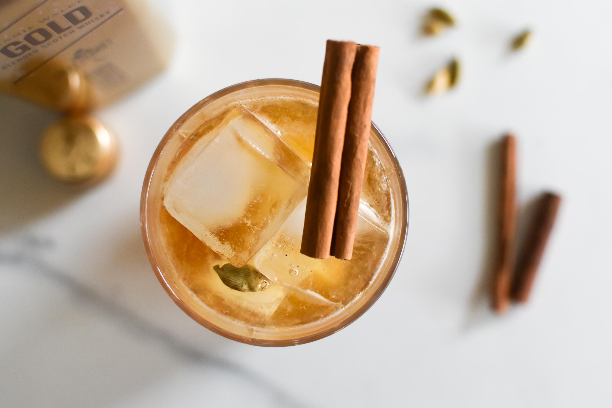 Drie cocktails met Johnnie Walker Gold