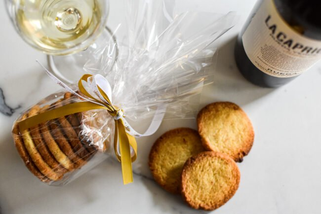 Koekjes: Mantecados: Spaanse amandel - citroenkoekjes