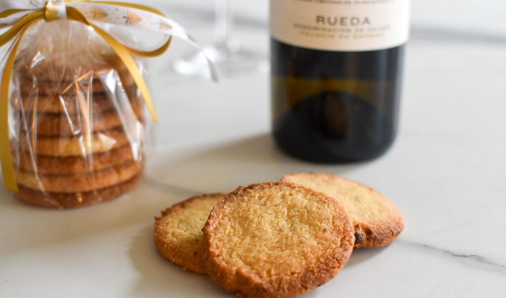 Mantecados: Spaanse amandel - citroenkoekjes