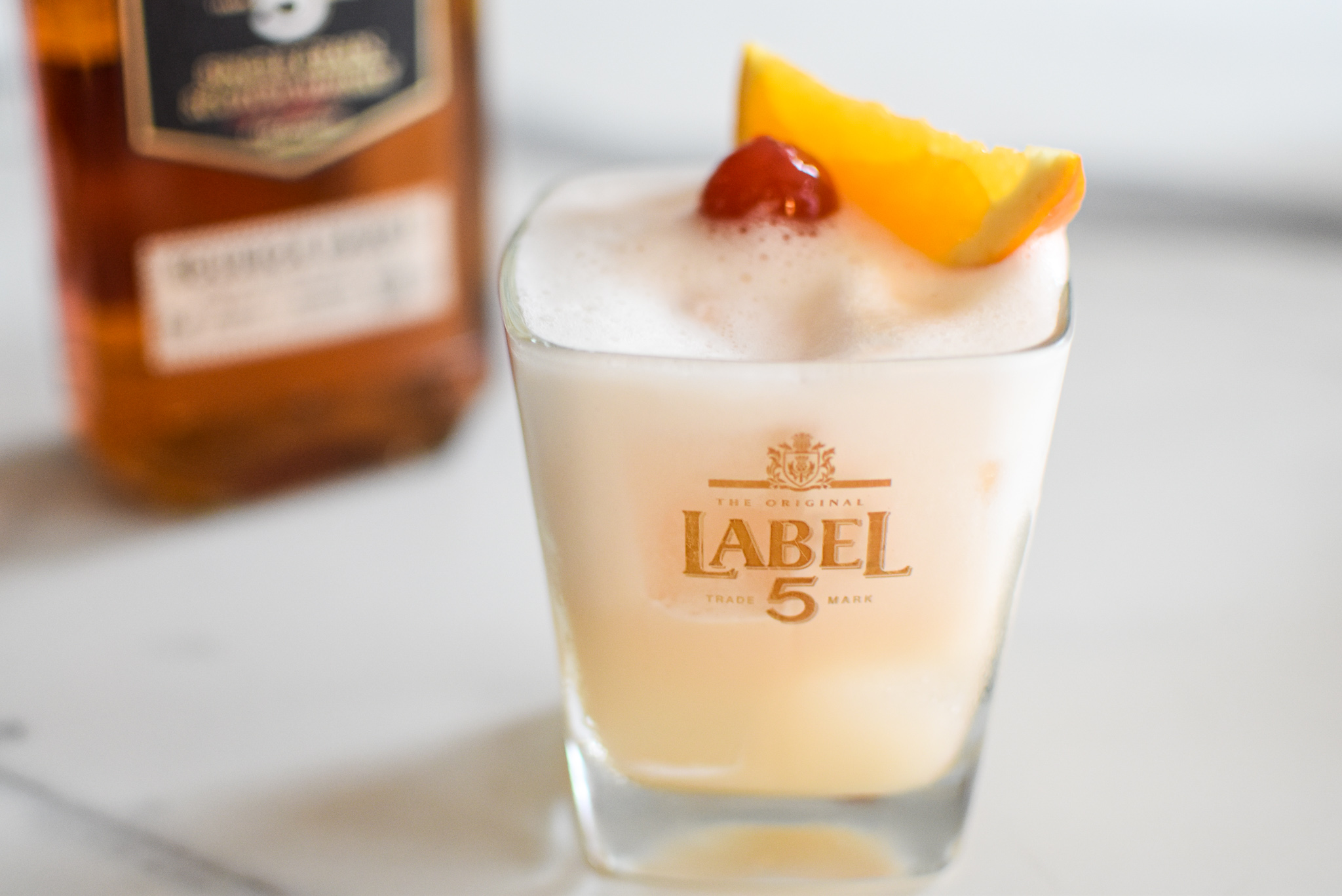 Pastis - whisky sour